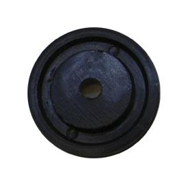 Imagen de Ruleman de Puerta Telescópica de Nylon